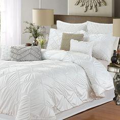 Isabella White 5-pc. Comforter Set