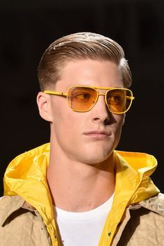 Empowered Men In Hot Yellow… Sunglasses