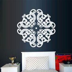 Wall Decal Vinyl Mural Sticker Art Decor Bedroom Yoga Kitchen Ceiling Mandala Menhdi Flower Pattern Ornament Om Indian Hindu Buddha (Z2873) StickersForLife http://www.amazon.com/dp/B00LN74OQ0/ref=cm_sw_r_pi_dp_tXVfvb1GATVJC