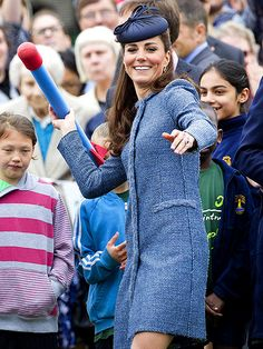 Love this photo of Kate taking aim with a toy rocket! http://www.people.com/people/gallery/0,,20603439_21173070,00.html