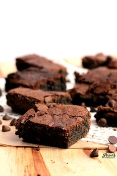 La receta para hacer los mejores brownies del mundo! de www.annaspasteleria.com - Best brownies ever!
