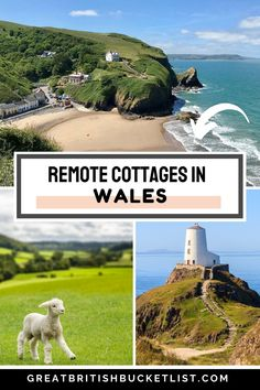 Are you looking for the best remote cottages in Wales to get away from it all? Then check out these stunning places for you next Welsh holiday - these are a real hikers dream! Family Travel, Travel Uk, Beach Travel, Travel Europe, Best Places To Travel, Places To Visit, Cottages In Wales, Visit Wales, Travel Inspiration