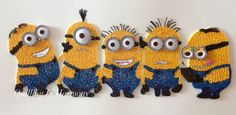Loveable Minions by QuillingInHarmony on Etsy