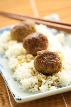 Gluten Free Asian Meatballs from my favorite blog, No Gluten No Problem.