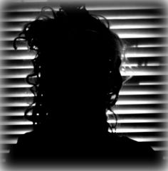 Blinds #noir #silhouette