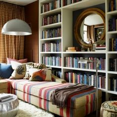 50 Jaw-dropping home library design ideas! (image via Thom Filicia)