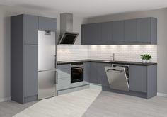 Trend Dark grey - Kjøkken fra Epoq - Kjøp hos Elkjøp og Lefdal!