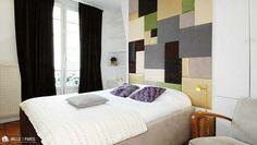 Chambre Color by 1000et1Paris.com ! Paris le Marais, décoration de chambre en couleurs, hyper cosy, Idée design Inspiration deco #1000et1Paris #1001Paris