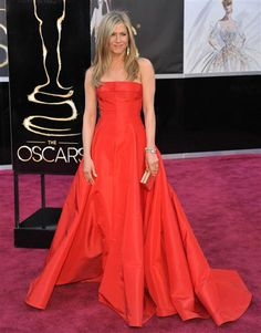 Fashion hits and misses: The 2013 Oscars.  Jen dress was definitely a hit!