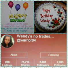 Celebrating Wendy @warrior04 Birthday!!! Please wish my best PFF a Very Happy Birthday!!!  Her name is Wendy @warrior04 and i would really appreciate it if you all share her closet for me . Her Birthday is tomorrow Feb 19th so let's celebrate her from now. Thanks in advance @jjyj2010 Coach Jewelry