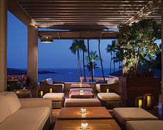 Nobu Lanai's sophisticated lounge