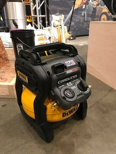 The 2017 DeWALT Experience in Nashville, coined was DeWALT's opportunity to showcase 200 new and improved products the company is bringing to market in Dewalt Power Tools, Mobile Workshop, Bad Room Ideas, Tool Board, Tool Pouch, Workshop Design, Cordless Tools, Tool Shop, Professional Tools