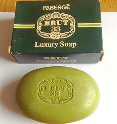 Faberge Brut 33 Luxury Soap from the 1970s
