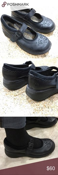 Dr Martens black Mary Janes Size 8US, these are in good used condition. They are the soft type of leather and are already broken in. They feel very light weight when walking. Hard to find style. Dr. Martens Shoes Sandals