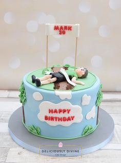Marathon Runner Birthday Cake Cakepins Com Running