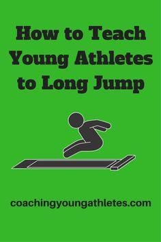 Coach young athletes to long jump in 3 easy steps.This sequence of activities can be used to teach long jump to beginners. I have used these teaching steps with class-sized groups of up to thirty children within a thirty minute session and with smaller groups during coaching clinics. The skills included are generally applicable to 5-12 year-olds. Click on the link to read more.