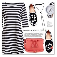 """""""striped"""" by fshionme ❤ liked on Polyvore featuring Kate Spade"""