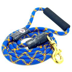 6' Reinforced Cushion Handle, Up-Cycled Rock Climbing Rope Dog Leash by RockDogLA on Etsy https://www.etsy.com/listing/253225438/6-reinforced-cushion-handle-up-cycled