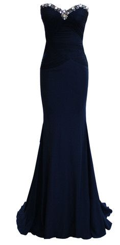 DINA BAR-EL - Marinel Gown. This reminds me of Anastasia's gown from the movie when she's going to the Opera.