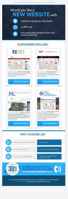 CRE Cloud Solutions Email Marketing Campaign by ScarlettaDesign