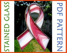 Looking for a great way to raise funds for your favorite charity? These colorful Stained Glass Awareness Ribbons work great as raffle prizes, or to sell at your local fundraising event!    Just click on the pic to get a copy of this easy to make pattern!