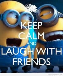 Laugh with friends
