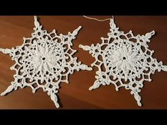 Crochet Snowflake Pattern, Crochet Stars, Crochet Snowflakes, Christmas Snowflakes, Thread Crochet, Filet Crochet, Crochet Doilies, Crochet Flowers, Crochet Stitches