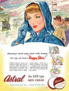 Astral Skin Cream advertisement. by totallymystified, via Flickr