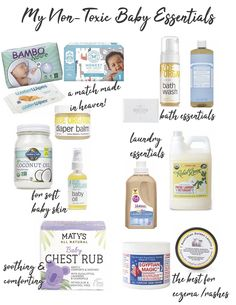 Looking for natural baby products? Want to create a non-toxic nursery for your new sweet babe? These are the must-have organic baby products to add to your baby registry! Eco-friendly baby products from diapers to crib bedding. Shopping Cart Hammock, Gripe Water, Baby Car Mirror, Baby Sleepers, Baby Box, My Little Baby, Mom And Baby, Baby Milestones, Baby Bottles