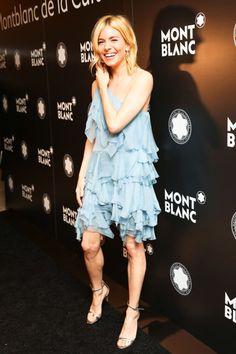 This week's best dressed: Sienna Miller in Saint Laurent. See the full list on BAZAAR.com.