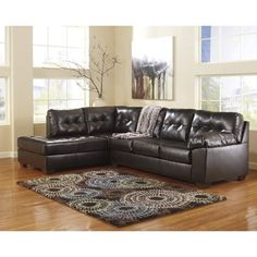 Alliston 2 Piece Sectional Sectionals Stationary