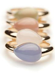 Mattioli Rugiada Chalcedony Ring by Mattioli from Amanda Pinson Jewelry