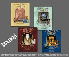 Summer Homeschool Science and History Giveaway! Bright Ideas Press, Christian Kids Explore... and Mystery of History. Giveaway July 17-23, 2017