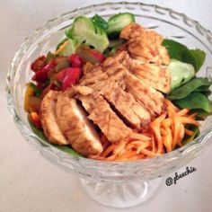 Ripped Recipes - Apple Miso Chicken - Sweet and tangy addition to a salad or just great with some sides for dinner!