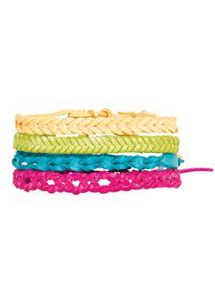 Savina Tonal Bracelet 4-Pack Price: $12.50