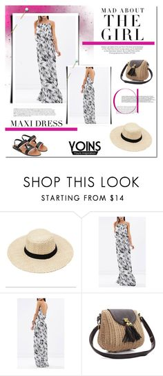 """""""Yoins - Maxi Dress."""" by tatajrj ❤ liked on Polyvore featuring Kershaw, BoConcept and yoins"""