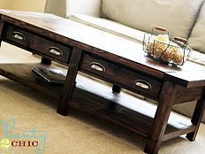 coffee table diy for $100