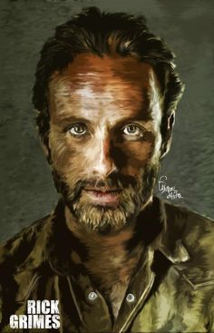 Rick Grimes (Andrew Lincoln) The Walking Dead