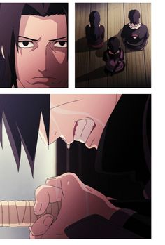 Difficult decision of Uchiha Itachi: Love to family vs. Peace on the world. Really hero.