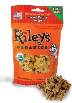 Riley's Organics Sweet Potato Bone >>> Remarkable product available now. : Dog treats