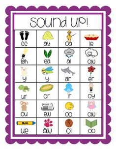 Awesome vowel digraph chart. Free!