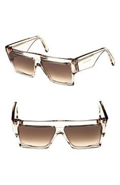 27b44a2f13d CÉLINE Designer 60mm Flat Top Sunglasses