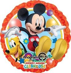 Mickey and Pluto Balloon