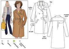 Tracy Trench Coat