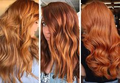 63 Hot Red Hair Color Shades to Dye for: Red Hair Dye Tips & Ideas Strawberry Blonde Hair Color, Red Blonde Hair, Blonde Hair Makeup, Pink Hair Dye, Hair Color Pink, Cool Hair Color, Light Auburn Hair Color, Dye Hair, Blonde Color
