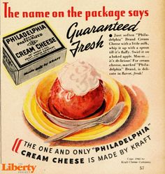 What Was Philadelphia Cream Cheese Cooking Up In 1941 This Ad From