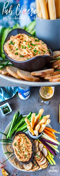 An explosion of zesty flavors in this easy to make pub cheese dip. Perfect appetizer for so many occasions. Pub Cheese Recipe, Beer Cheese Fondue, Cheese Recipes, Best Appetizer Recipes, Best Appetizers, Beer Recipes, Dip Recipes, Healthy Recipes, Hot Desserts