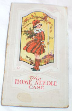 Vintage THe Home Needle Book Dix and Rands