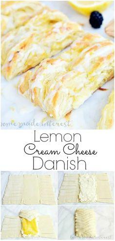 Breakfast Pastries, Breakfast Recipes, Puff Pastries, Breakfast Cheese Danish, Danish Pastries, Easy Brunch Recipes, Breakfast Casserole, Breakfast Ideas, Danish Recipe Easy