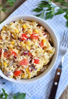 Orzo, Gouda, Macaroni And Cheese, Grains, Salads, Rice, Ethnic Recipes, Impreza, Mac And Cheese